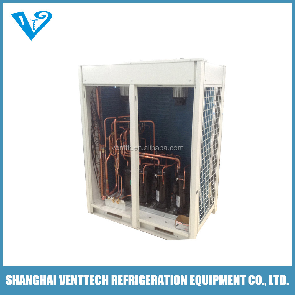 internal floating corrugated heating and air conditioning package unit