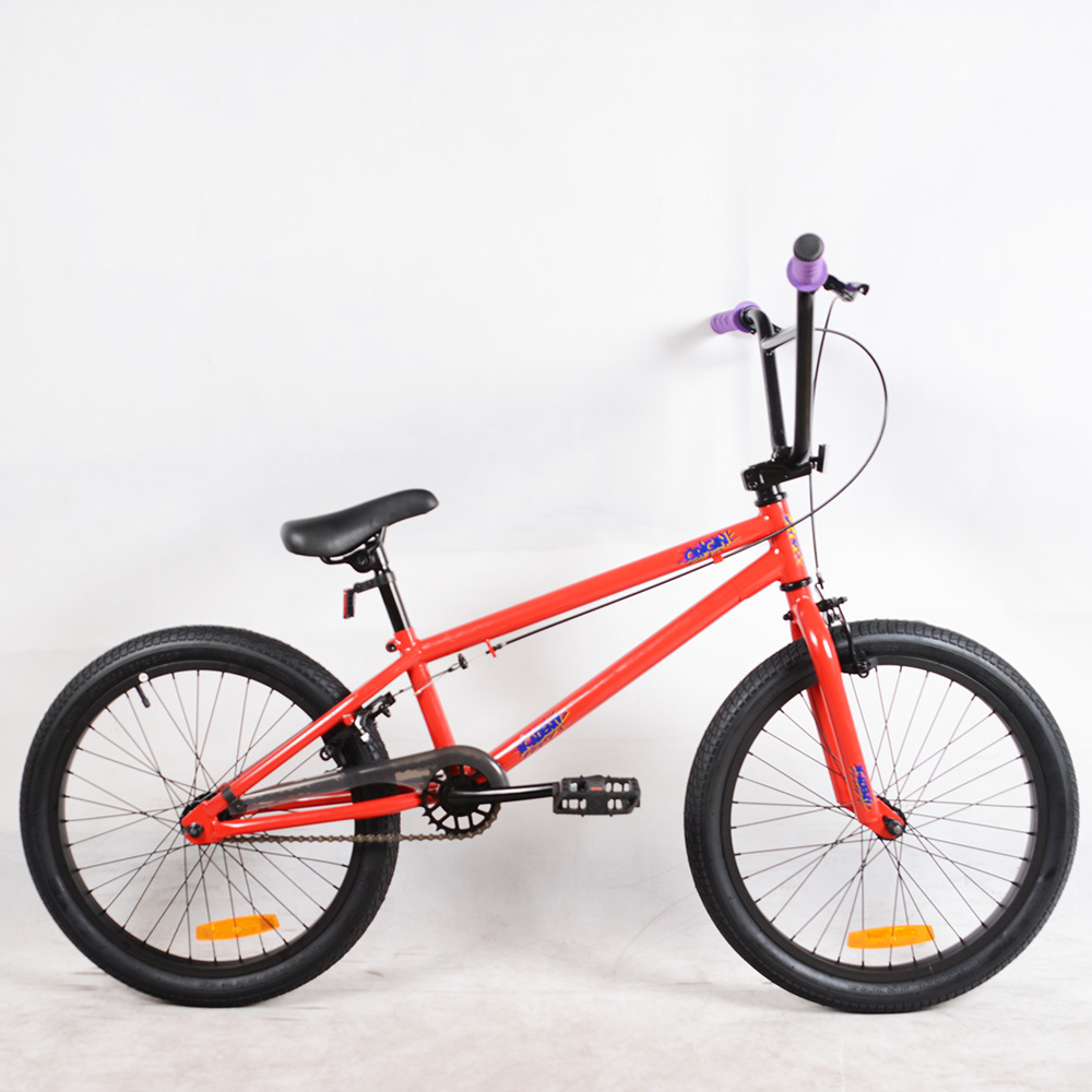 Best selling 20 inch hi ten steel frame freestyle bike bmx manufacturer