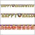 Happy Halloween paper Letter Banner Bunting Garland Halloween Cheap Party Decoration