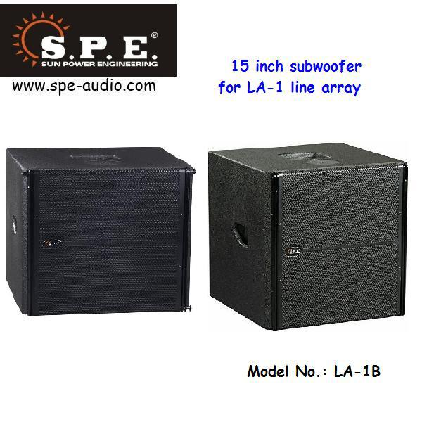 LA-1 spe audio dual 6.5 passive 2 way mini line array speaker