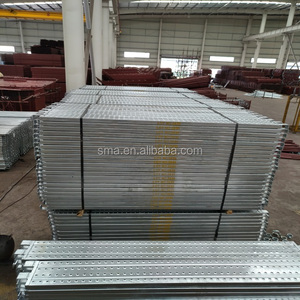 Hop Dip Galvanied Heavy Loaded High Quality Steel Platform Planks Scaffolding