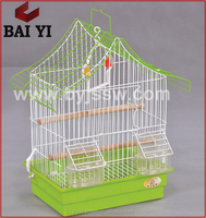 Chinese Cheap Aluminium Bird Cage Trap With Bird Cage Accessories