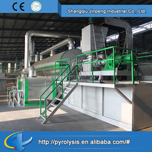 Pyrolysis oil distillation plant plastic recycling line