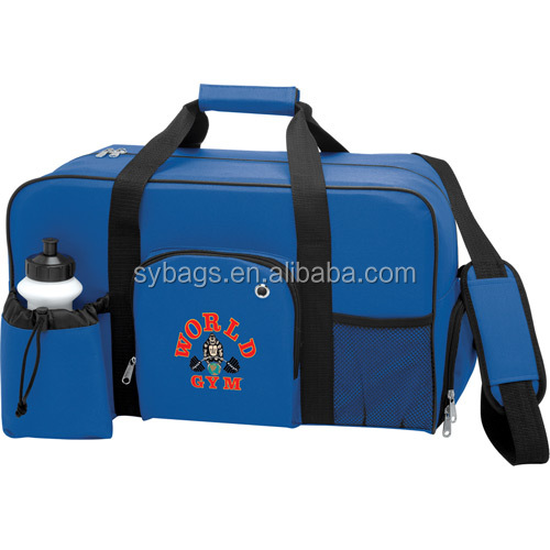 personalised square travel bags / sport duffle / weekend travel bag
