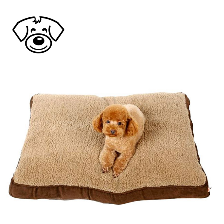 Floor Cushion Cover Cotton Dog Bed Square Pet Bed
