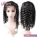 "150% density Brazilian human hair 24"" Brazilian Full Lace Wig"