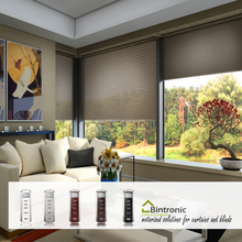 Bintronic Taiwan Manufacturer Motorized Curtain and Blind for Home Automation Motorized Cellular Blinds City Shades