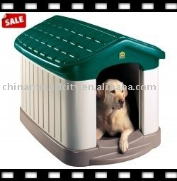 plastic high quality mould, plastic pet house mould,cute dog house mold