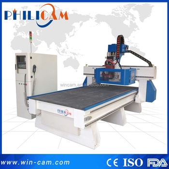 Philicam FLDM1325 cnc disk auto tool changer machine/wood cnc router