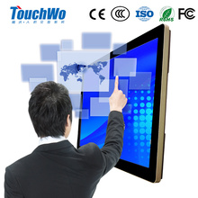 FC/ROHS 32 inch interactive touch screen monitor /all in one PC touch screen lcd smart tv