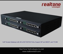 VoIP Gateways 96 FXS/FXO ports based on SIP