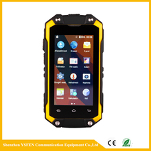 Rugged WCDMA smartphone 2.45 inch screen 3G Networking rugged android phone with GPS Wifi