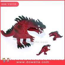 3d plastic OEM animal toys dragon for promotion