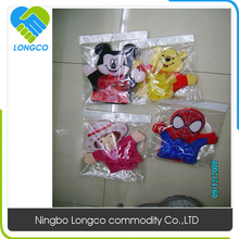 Factory price 2016 dlsney bath toys ,gloves,mitts,shower puff,bath sponge