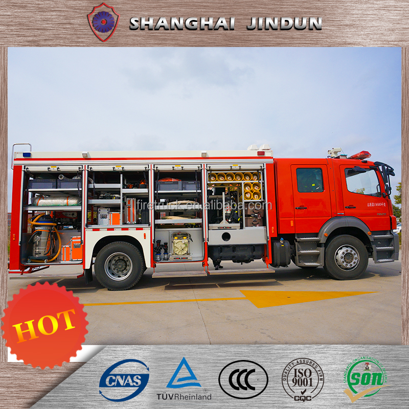 Chinese Import Sites Aerial Platform Fire Truck