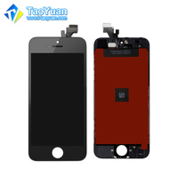 Mobile phone Lcds for iPhone 5 lcd screen white China Exporter