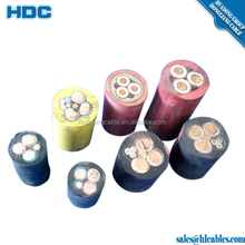 Best Sale Age silicone rubber cable high voltage with screen copper core