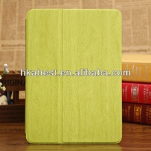 Wholesale Wooden Pattern PU Leather Cover Case For iPad Air