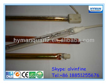 All Kinds Of Quartz Halogen Heating Tube,Golden coated/ruby/Half white coated halogen heating lamp