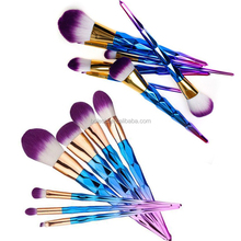 private label cosmetics makeup brush Top quality 10pcs personalized makeup brush set manufacturer