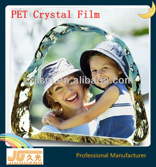 PET Clear Crystal Photo Printing Film