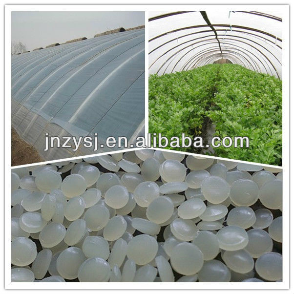 Agricultural plastic tunnel film and mulch film fog resistance and UV prevent functional long life masterbatch