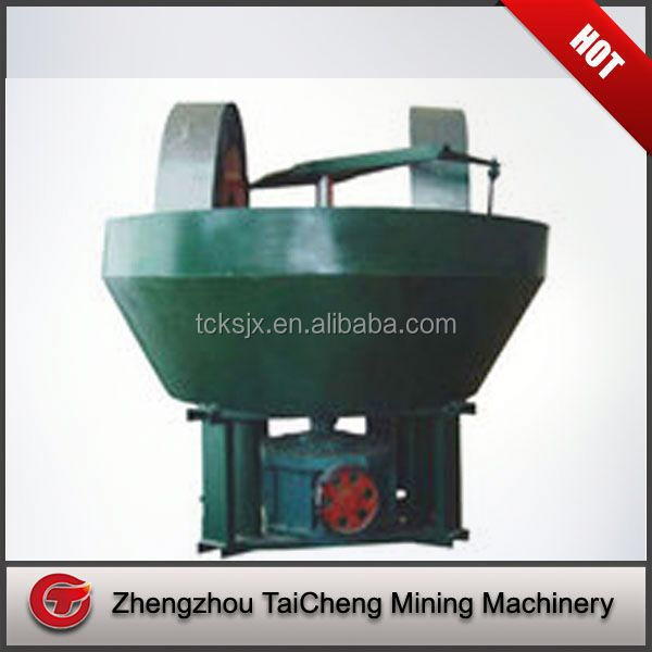 High abrasion resistance coal slurry pan mill for hot market