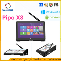7 inch Screen Intel Atom Z3736F X86 Quad Core Mini PC 2GB RAM 32GB 64GB ROM Android Win8 Dual OS Set Top Box PIPO X8