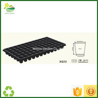 Wholesale quality plastic seed starting trays 72 cells for sale