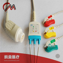 Mindray 3-lead ecg cable and leadwires,T5/T8,medical equipment