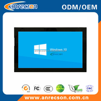 "Widescreen 21.5""/22"" inch capacitive touchscreen kiosk LCD monitor"