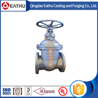 Cast iron metal seal gate valve