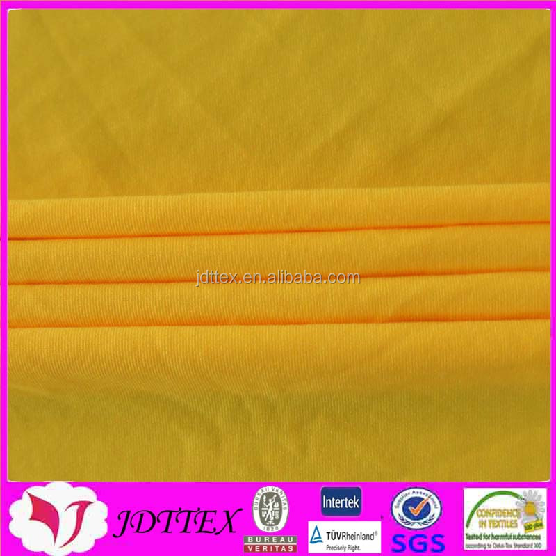 90 polyester 10 spandex pu 4 way stretch knitted undergarment fabric