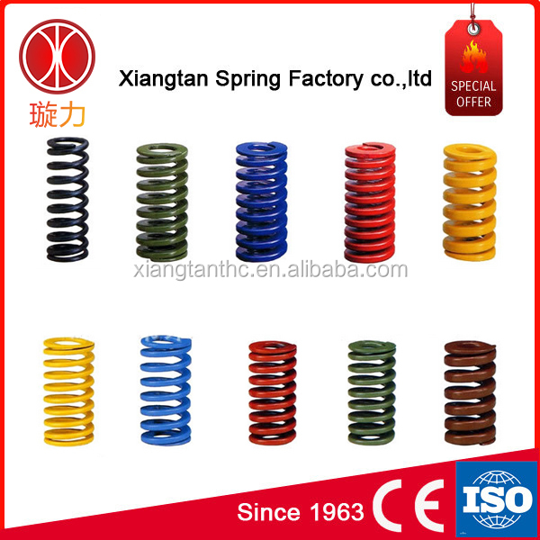 Large heavy duty compression coil springs die compression spring