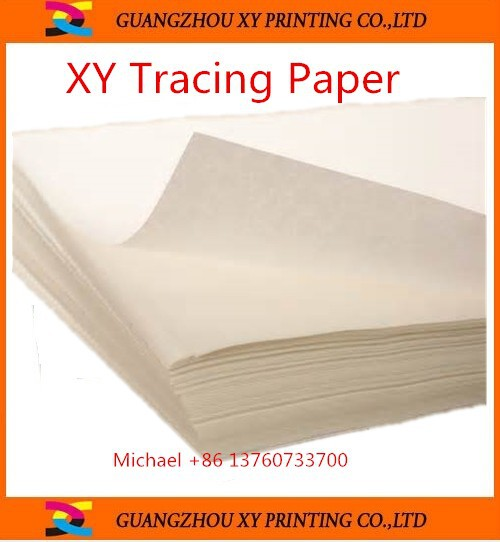 Top grade clear/colored butter tracing paper, tracing paper roll,with competitive price