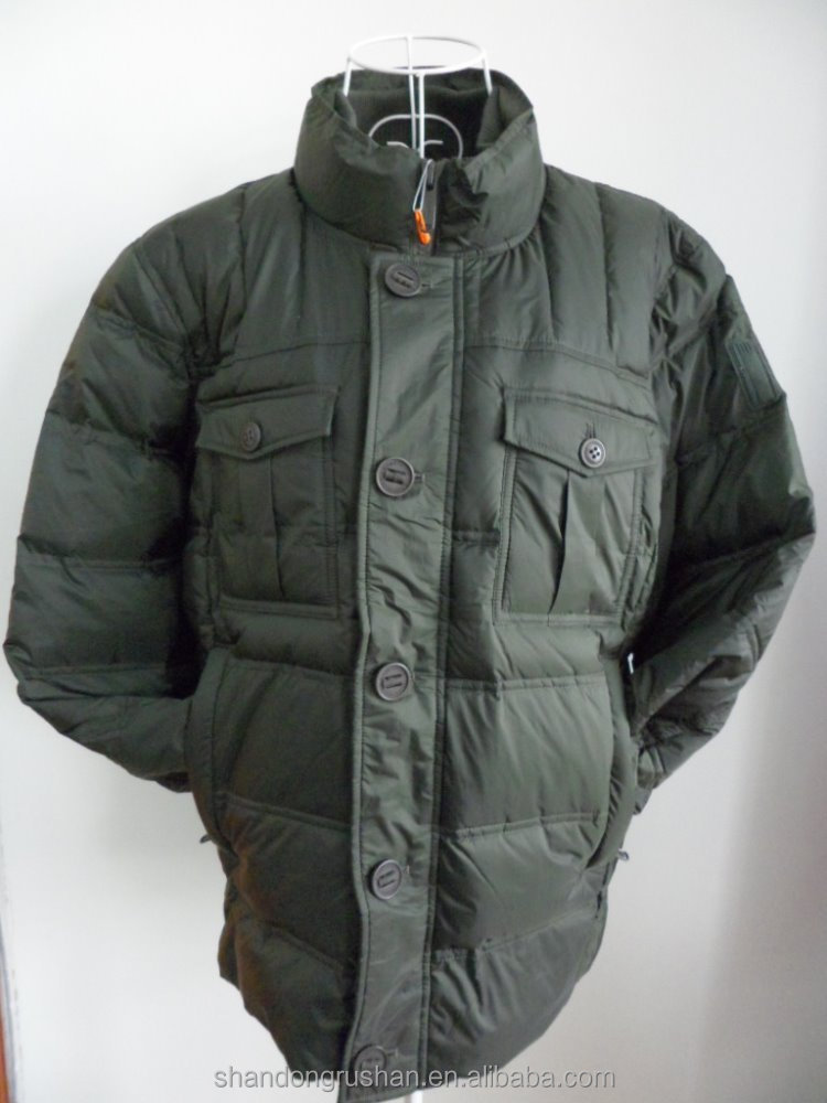 new style men's feather down jacket winter coats