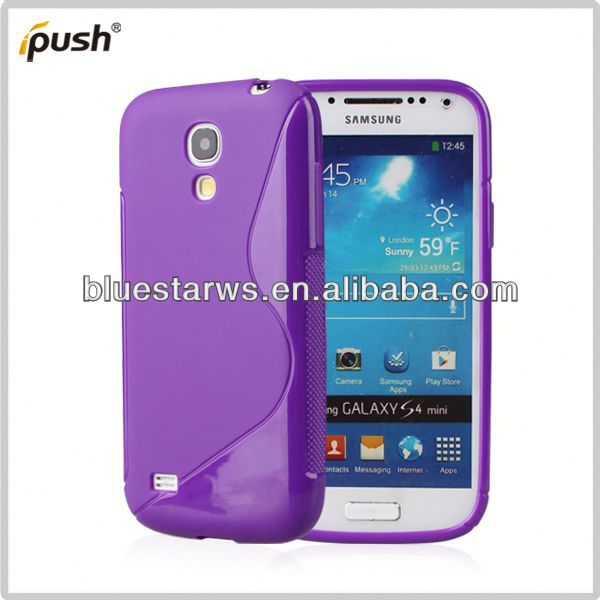 made in china for samsung s4 mini soft tpu case tpu crystal case for samsung s4