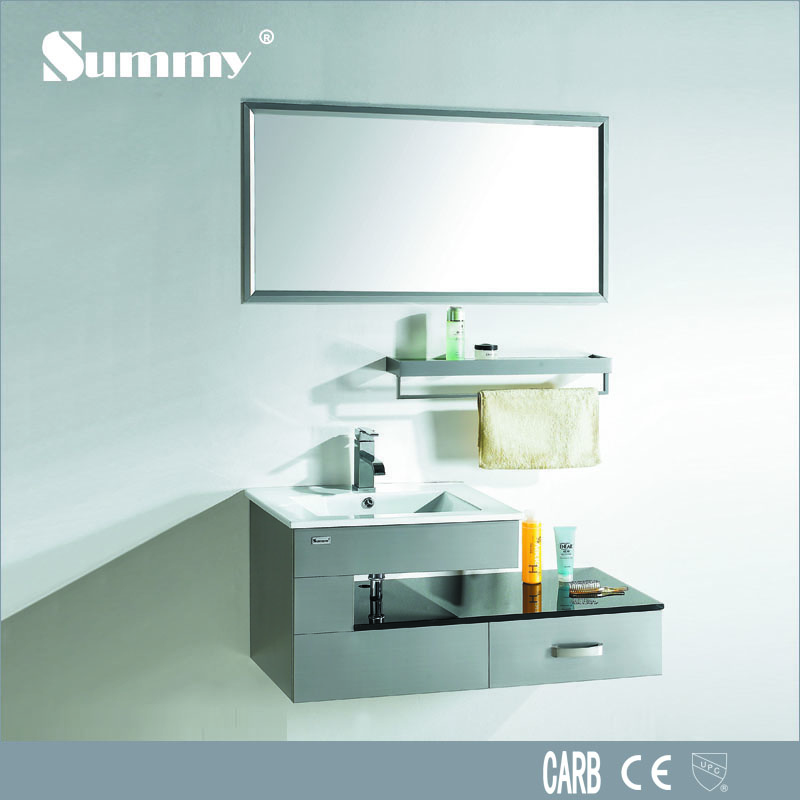 Customzied vanity fair bathroom furniture from China supplier