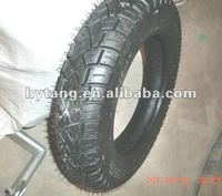 good quality tubeless motorcycle rubber tyre/tire 3.00-10