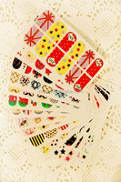 2011 new design nail decoration/nail sticker