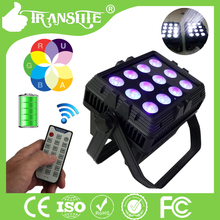 Best Quality Outdoor Led Stage Light Waterproof Led Par Light Theater /DJ 12PCS 6IN I RGBWA UV Leds
