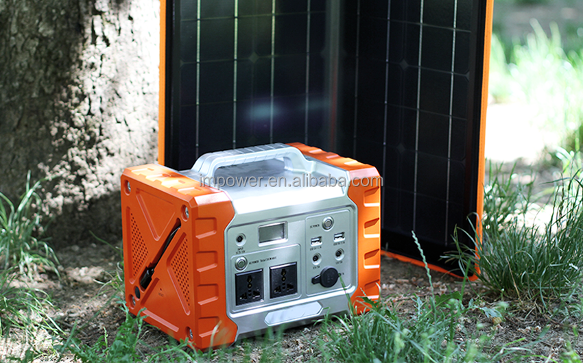 Manufacturer 12V Dc Output Solar Generator Price For Outdoor