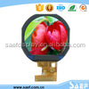 1.22 inch round color screen with SPI interface TFT module with 240* (RGB )*204 resolution TFT LCD display