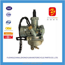 2017 new design 17mm motorcycle carburetor DY100( NK) for 100cc