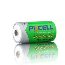 Hot sale 1.2 v c size battery voltage 1.2v 4500mah nimh rechargeable battery