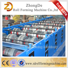 Customized metal floor plate roll decking sheet forming machine