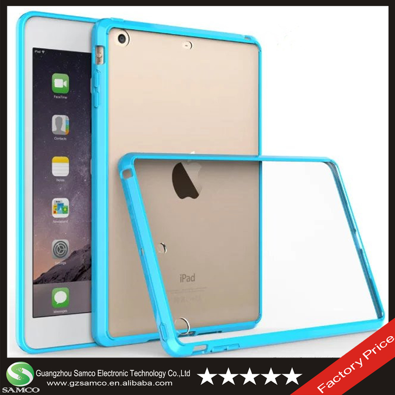 Samco Fast Shipping High Original Transparent Smart Cover Case for iPad Mini 1 2 3
