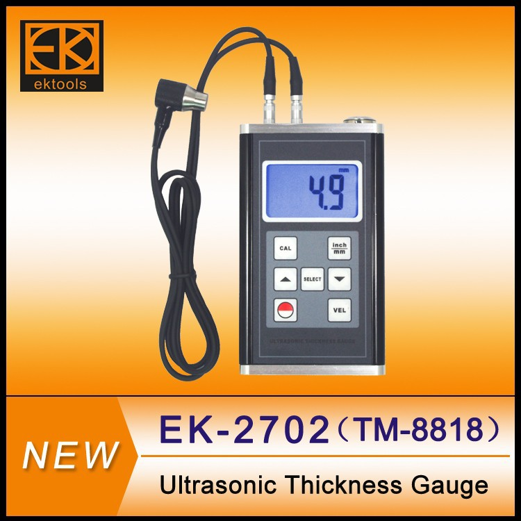 2015 hot selling ultrasonic thickness gage