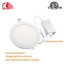 8W 4Inch Round LED Panel Light Cool White Downlight with LED driver