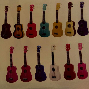 21 inch wooden colorful ukulele best birthday gift ideas for girlfriends